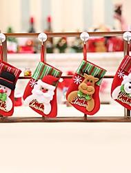 Недорогие -Праздничные украшения Новый год / Рождественский декор Рождественские украшения Декоративная / Милый Образец 4шт