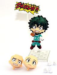 お買い得  -アニメのアクションフィギュア に触発さ すべてのための私のヒーローアカデミーバトル / 僕のヒーローアカデミア Midoriya Izuku PVC 10 cm cm モデルのおもちゃ 人形玩具