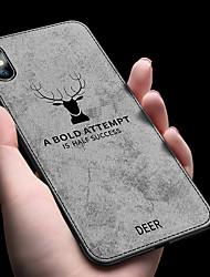 billiga -fodral Till Apple iPhone XR / iPhone XS Max Stötsäker / Ultratunt Skal Enfärgad Mjukt TPU för iPhone XS / iPhone XR / iPhone XS Max