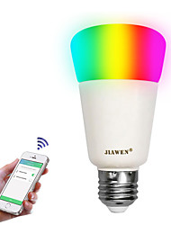 abordables -zigbee led ampoule lampes e27 rgbw application intelligente contrôler 16 millions de couleurs 9w dimmable intelligen éclairage