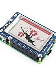 Недорогие -wavehare 2.7inch e-paper hat (b) 264x176 2,7 дюймовый штекер для электронных чернил для малины pi трехцветный