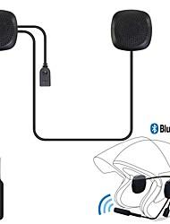 abordables -moto bluetooth 4.2 casque systèmes de communication casque-interphone kitwith répondeur automatique pour le ski de moto