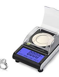 Недорогие -cx501 50 г 0,001 г цифровые электронные весы 0,001 г точность касания жк-цифровые ювелирные изделия с бриллиантами весы лаборатория подсчета веса баланс