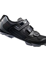 Недорогие -Взрослые Обувь для горного велосипеда Нейлон, стекловолокно, воздушное отверстие,противоскользящие протекторы Дышащий Амортизация Вентиляция Велосипедный спорт / Велоспорт Для велоспорта Черный