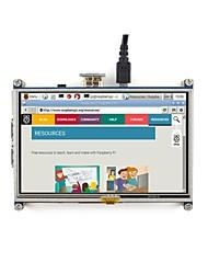 Недорогие -5-дюймовый резистивный сенсорный экран lcd, интерфейс hdmi, предназначенный для малины pi wavehare