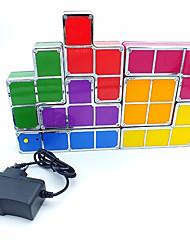baratos -Brelong tetris blocos noite luz usb fonte de alimentação 1 pc