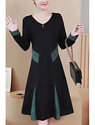 Недорогие -женский выход маленькое черное платье midi