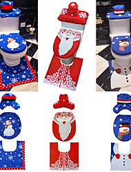 cheap -Toile Party Accessories Christmas / Party / Evening Christmas / Snowman / Creative Flannel Fabric