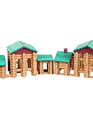 Недорогие -Конструкторы Cool утонченный Взаимодействие родителей и детей деревянный Детские Все Игрушки Подарок 1 pcs