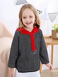 tanie -Dzieci Dla dziewczynek Prążki / Patchwork Długi rękaw Sweter i kardigan