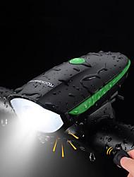 billiga -Framlykta till cykel LED Cykellyktor Cykelsport Anti-Dimma, Vattentät, Bärbar Uppladdningsbart Batteri 500 lm Uppladdningsbart Batteri Vit Camping / Vandring / Grottkrypning / Cykling - ROCKBROS