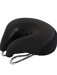 Недорогие -Седло для велосипеда Очень широкий Комфорт Подушка Кожа PU силикагель Велоспорт Шоссейный велосипед Горный велосипед Черный Оранжевый