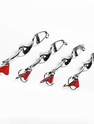 Недорогие -5 pcs Рыболовная приманка Ложки Металл Прост в применении Морское рыболовство / Ловля нахлыстом / Ловля на приманку