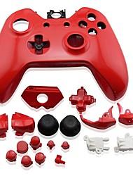 Недорогие -Комплекты запасных частей для игрового контроллера Назначение Wii U ,  Очаровательный Комплекты запасных частей для игрового контроллера ПВХ 1 pcs Ед. изм