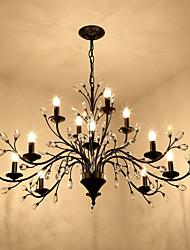 Недорогие -JLYLITE Люстры и лампы Рассеянное освещение Окрашенные отделки Металл Мини 110-120Вольт / 220-240Вольт