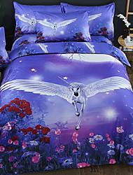 Недорогие -Покрытие для одеяла на день благодарения устанавливает геометрический полистирол реактивной печати 3 шт.