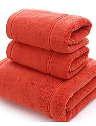Недорогие -Высшее качество Полотенце для рук, Однотонный 100% хлопок Спальня 1 pcs