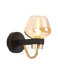 baratos -QINGMING® Estilo Mini Simples / Moderno / Contemporâneo Sala de Estar / Quarto Metal Luz de parede 110-120V / 220-240V 5 W