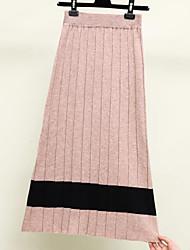 baratos -saias de lápis maxi saindo de mulheres - bloco de cor