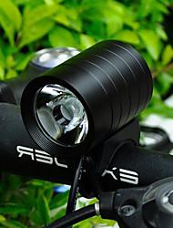 Недорогие -Передняя фара для велосипеда Светодиодная лампа Велосипедные фары Велоспорт Водонепроницаемый, Портативные, Размер путешествия Перезаряжаемая батарея 400 lm Аккумуляторные батарейки Белый