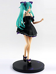 billiga -Anime Actionfigurer Inspirerad av Vocaloid Hatsune Miku pvc 24 cm CM Modell Leksaker Dockleksak