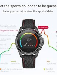 billige -Smartur YY-CK23 for Android iOS Bluetooth Sport Vandtæt Pulsmåler Blodtryksmåling Touch-skærm Stopur Skridtæller Samtalepåmindelse Aktivitetstracker