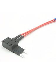 Недорогие -держатель плавкого предохранителя вставки для автомобиля / предохранитель для автомобильной вставки возьмите электрический прибор / 2-штырьковый плавкий предохранитель 3