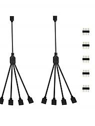 Недорогие -KWB 2pcs Газонокосилка ABS + PC Электрический кабель для светодиодной полосы света
