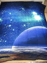 Недорогие -удобный - 2 наволочки / 1 одеяло Все сезоны Микрофибра 3D-печати
