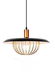 abordables -Nouveauté Lampe suspendue Lumière d'ambiance Finitions Peintes Métal Design nouveau 110-120V / 220-240V Ampoule non incluse / E26 / E27