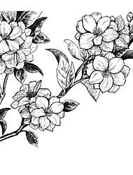 Недорогие -Декоративные наклейки на стены - Праздник стены стикеры Пейзаж / Цветочные мотивы / ботанический Столовая / В помещении