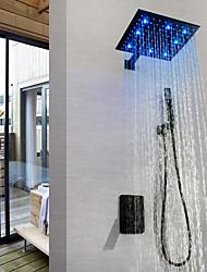 billiga -dusch kran / badrum sjunka kran - modern målning väggmonterad mässing ventil led