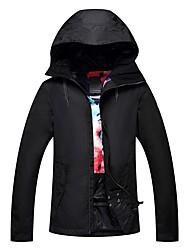 Недорогие -GSOU SNOW Жен. Лыжная куртка Лыжные очки, Лыжи, Зимние виды спорта Зимние виды спорта Полиэфир Верхняя часть Одежда для катания на лыжах / Зима