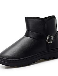 Недорогие -Муж. Комфортная обувь Полиуретан Зима На каждый день Ботинки Сохраняет тепло Черный / Коричневый