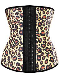 baratos -Personalizado Látex Corpete Leopardo Casamento