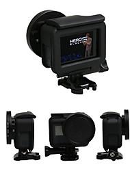 Недорогие -крышка объектива Чехлы / Защита Для Экшн камера Gopro 5 На открытом воздухе / Разные виды спорта Стекло / ABS + PC - 1 pcs