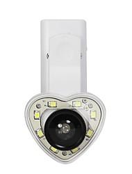 abordables -brelong led lumière de remplissage retardateur trois en un en forme de coeur 1 pc