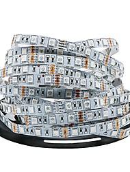 Недорогие -Ziqiao dc12v светодиодные полосы света 5 м / лот 300 светодиодов светодиодные ленты 5050smd гибкие светодиодные светильники украшения лампы RGB 5050 светодиодные ленты