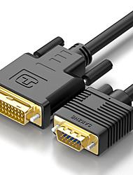 Недорогие -Samzhe VGA Кабель-переходник, VGA к VGA Кабель-переходник Male - Male 1080P 1.8M (6 футов)