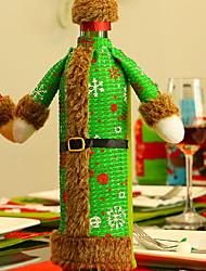 رخيصةأون -حقائب النبيذ وحمالاته عطلة قماش Cube حداثة زينة عيد الميلاد