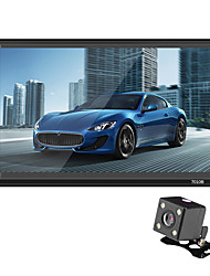 baratos -Swm 7010b 7 polegada 2 din carro mp5 player touch screen / volante de controle / sd / usb suporte para universal / volvo / volkswagen rca / tv out / bluetooth suporte mpeg / avi / mpg mp3 / wma / wav