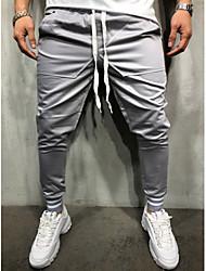 abordables -Homme Basique / Chic de Rue Joggings Pantalon Couleur Pleine / Sports