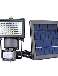 Недорогие -4шт / 1шт 5 W Свет газонные / Светодиодный уличный фонарь / Солнечный свет стены Работает от солнечной энергии / Инфракрасный датчик / Управление освещением Тёплый белый / Белый 3.7 V