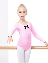 billiga -Balett Outfits Flickor Träning / Prestanda Elastan / Lycra Vågliknande Långärmad Kjolar / Trikå / Onesie