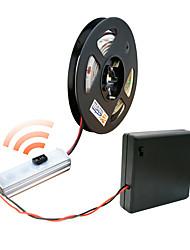 billiga -zdm 200cm / 80 tum 2835 vattentät gestens sensor ljusremsa 3aa batteribox dc4.5v