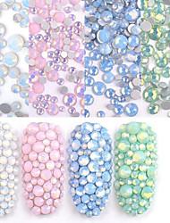 ieftine -350 pcs Cea mai buna calitate Materiale ecologice Bijuterie unghii Pentru Creative nail art pedichiura si manichiura Zilnic / Festival La modă / Dulce