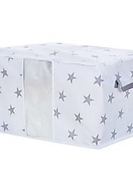 Недорогие -Нетканые / Нетканый материал Прямоугольная Геометрический узор Главная организация, 1шт Мешки для хранения