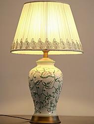 abordables -Moderne / simple Décorative / Cool Lampe de Table Pour Chambre à coucher / Bureau / Bureau de maison Céramique 220V