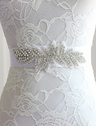 billige -Poly / bomuldsblanding Bryllup / Speciel Lejlighed Ordensbånd Med Bjergkrystal Dame Skærf
