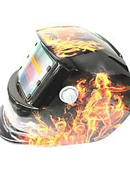 Недорогие -солнечная автоматическая фотоэлектрическая сварочная маска группы хаоса